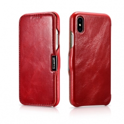 ICARER VINTAGE IPHONE XS MAX RED