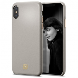 SPIGEN LA MANON CALIN IPHONE X/XS OATMEAL BEIGE