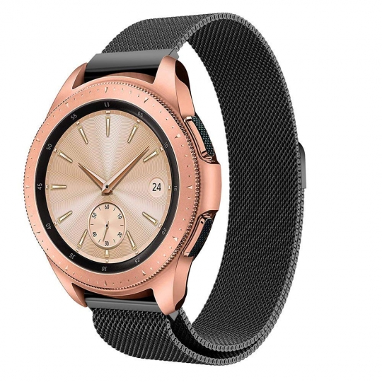 TECH-PROTECT MILANESEBAND SAMSUNG GALAXY WATCH 42MM BLACK