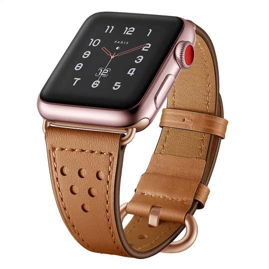 TECH-PROTECT MILANO APPLE WATCH 1/2/3/4 (38/40MM) BROWN