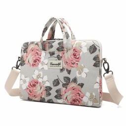 CANVASLIFE BRIEFCASE MACBOOK PRO 15 WHITE ROSE