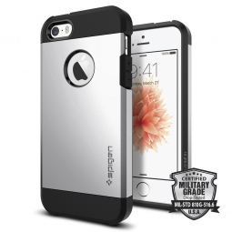 SPIGEN SGP TOUGH ARMOR IPHONE 5S/SE SATIN SILVER