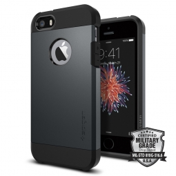 SPIGEN SGP TOUGH ARMOR IPHONE 5S/SE METAL SLATE
