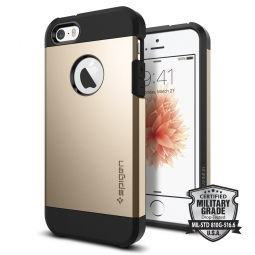 SPIGEN SGP TOUGH ARMOR IPHONE 5S/SE CHAMPAGNE GOLD