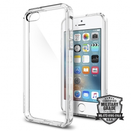 SPIGEN SGP ULTRA HYBRID IPHONE 5S/SE CRYSTAL CLEAR