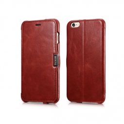 ICARER SIDE OPEN VINTAGE IPHONE 6/6S PLUS (5.5) RED