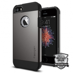SPIGEN SGP TOUGH ARMOR IPHONE 5S/SE GUNMETAL