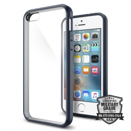 SPIGEN SGP ULTRA HYBRID IPHONE 5S/SE METAL SLATE