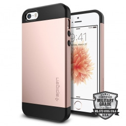 SPIGEN SGP SLIM ARMOR IPHONE 5S/SE ROSE GOLD