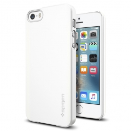 SPIGEN SGP THIN FIT IPHONE 5S/SE SHIMMERY WHITE
