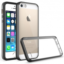 TECH-PROTECT SLIM HYBRID IPHONE 5S/SE BLACK