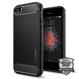 SPIGEN SGP RUGGED ARMOR IPHONE 5S/SE BLACK
