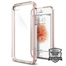 SPIGEN SGP ULTRA HYBRID IPHONE 5S/SE ROSE CRYSTAL