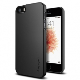 SPIGEN SGP THIN FIT IPHONE 5S/SE BLACK