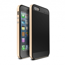UCASE CARBON FRAME IPHONE 5S/SE GOLD