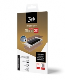 FOLIA OCHRONNA 3MK INVISIBLECASE FLEXIBLE GLASS 3D IPHONE 5S/SE