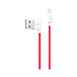 HOCO LIGHTNING CABLE 120CM RED