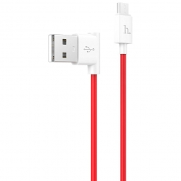 HOCO MICRO-USB CABLE 120CM RED