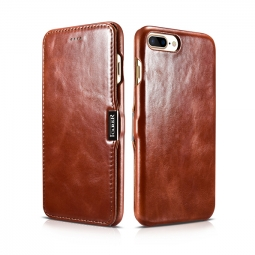 ICARER VINTAGE IPHONE 7/8 PLUS BROWN