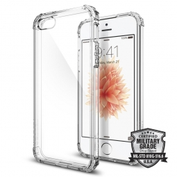 SPIGEN CRYSTAL SHELL IPHONE 5S/SE CLEAR CRYSTAL