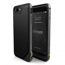 X-DORIA DEFENSE LUX OLD IPHONE 7/8 PLUS BLACK CARBON
