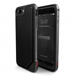 X-DORIA DEFENSE LUX OLD IPHONE 7/8 PLUS BLACK LEATHER