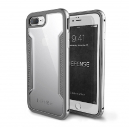 X-DORIA DEFENSE SHIELD IPHONE 7/8 PLUS SILVER