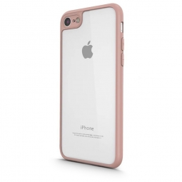 UCASE CLEAR HYBRID 0.8MM IPHONE 7/8 PINK