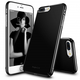 RINGKE SLIM IPHONE 7/8 PLUS GLOSS BLACK
