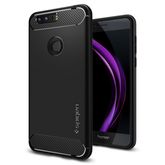 SPIGEN RUGGED ARMOR HUAWEI HONOR 8 BLACK
