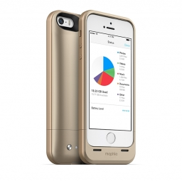 MOPHIE SPACE PACK 1700MAH + 16GB CAPACITY IPHONE 5S/SE GOLD