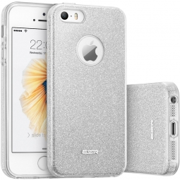 ESR GLITTER SHINE IPHONE 5S/SE SILVER