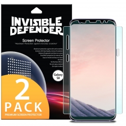 FOLIA OCHRONNA RINGKE INVISIBLE DEFENDER GALAXY S8