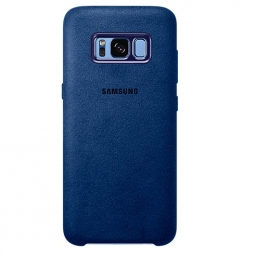 SAMSUNG ALCANTARA COVER GALAXY S8+ PLUS BLUE