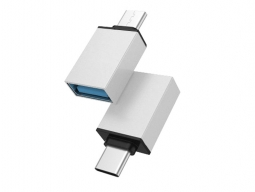 PESTON ADAPTER TYPE-C TO USB/OTG SILVER