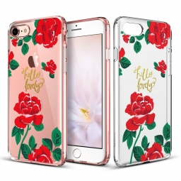 ESR ART CASE IPHONE 7/8 RED ROSE