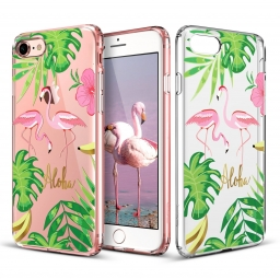 ESR ART CASE IPHONE 7/8 FLAMINGO