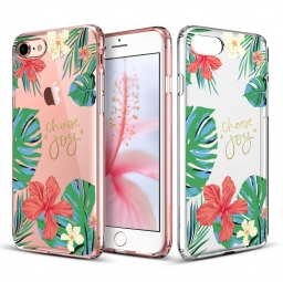 ESR ART CASE IPHONE 7/8 ROSE OF SHARON