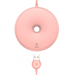 BASEUS DONUT WIRELESS CHARGER PINK
