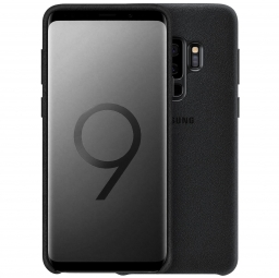 SAMSUNG ALCANTARA COVER GALAXY S9+ PLUS BLACK