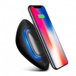 HOCO CW10 WIRELESS CHARGER BLACK