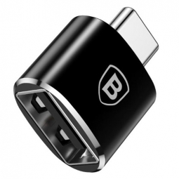 BASEUS ADAPTER TYPE-C TO USB/OTG BLACK