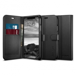 SPIGEN WALLET S IPHONE XR BLACK