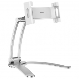 ROCK UNIVERSAL STAND HOLDER SMARTPHONE & TABLET SILVER