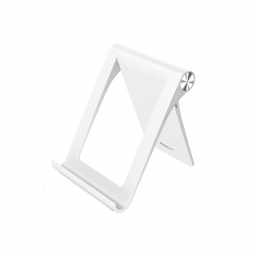 ROCK UNIVERSAL STAND HOLDER SMARTPHONE & TABLET WHITE