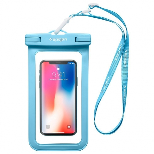 SPIGEN A600 UNIVERSAL WATERPROOF CASE BLUE