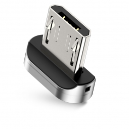 BASEUS MICRO MAGNETIC ADAPTER SILVER