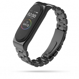 TECH-PROTECT STAINLESS XIAOMI MI BAND 3/4 BLACK