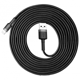 BASEUS CAFULE LIGHTNING CABLE 300CM GREY/BLACK