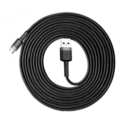 BASEUS CAFULE TYPE-C CABLE 300CM GREY/BLACK